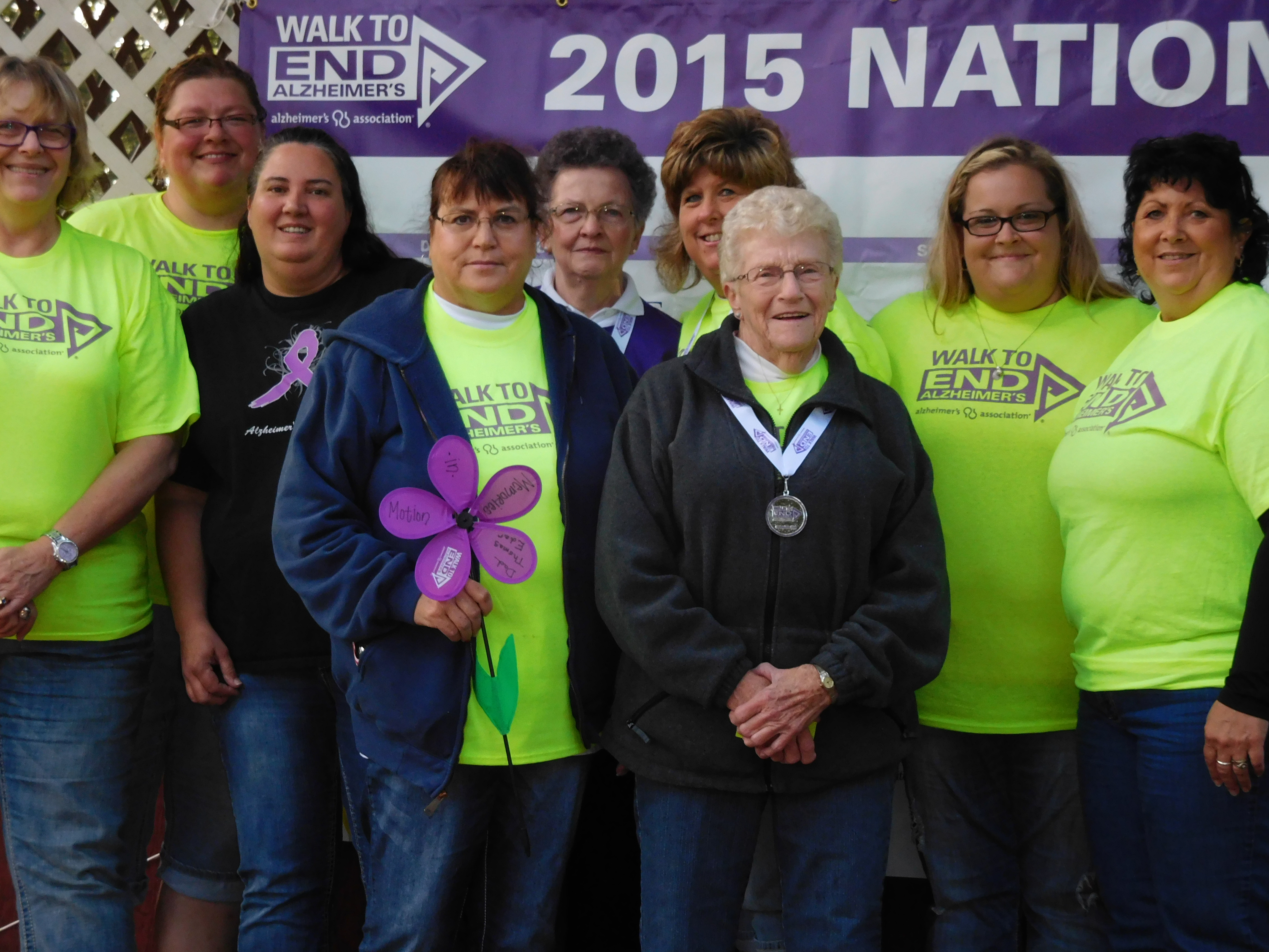 american lutheran homes menomonie walk to end alzheimer's